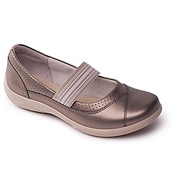 Padders - Metallic Combi Jade womens Mary Jane shoes