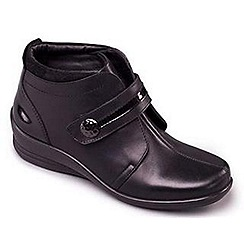 Padders - Black Combi 'Shirley' women's leather boots