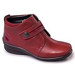 Padders - Wine 'Shirley' women's leather boots