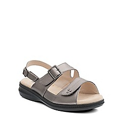 Padders - Grey 'Laura' womens leather sandals
