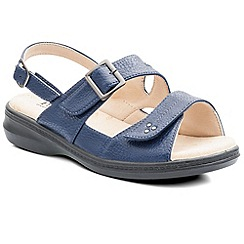 Padders - Blue 'Laura' womens leather sandals