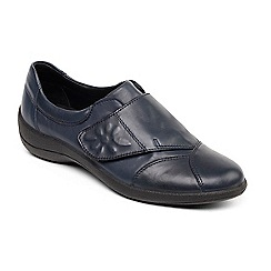 Padders - Navy 'Rose' leather shoe