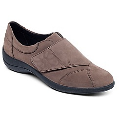 Padders - Taupe 'Rose' leather shoe