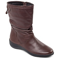 Padders - Brown 'Regan' calf boot