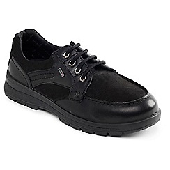 Padders - Black Combi 'Trail' waterproof shoe