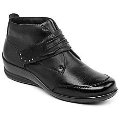 Padders - Black 'Tina' ankle boots