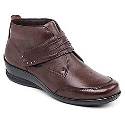 Padders - Brown 'Tina' ankle boots