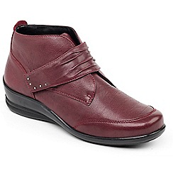 Padders - Wine 'Tina' ankle boots
