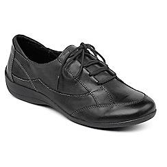 Padders - Black 'Glade' lace shoe