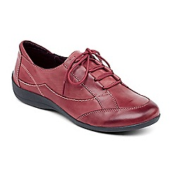 Padders - Wine 'Glade' lace shoe