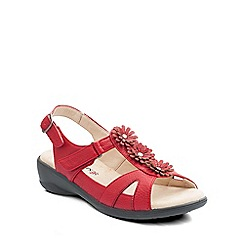 Padders - Red 'Paris' womens leather sandals