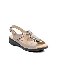 Padders - Natural 'Paris' womens leather sandals