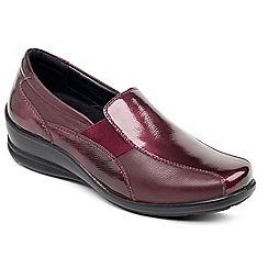 Padders - Wine 'Skye' slip on shoe