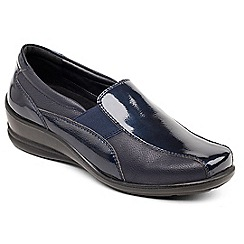 Padders - Navy 'Skye' slip on shoe