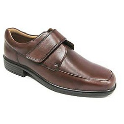 Padders - Brown 'Richard' touch and close shoe
