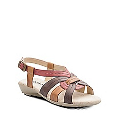 Padders - Red 'Pandora' womens leather sandals