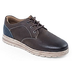 Padders - Light Brown 'Regain' tie shoe