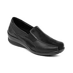 Padders - Black 'Skye' slip on shoe
