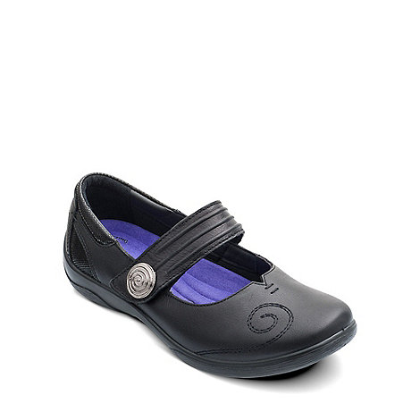 Padders - Black +Poem+ womens mary jane shoes