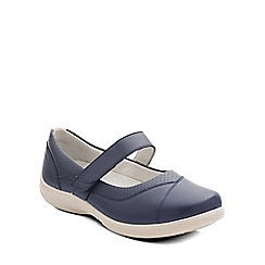 Padders - Navy 'Denise' womens mary jane shoes