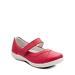 Padders - Red 'Denise' womens mary jane shoes