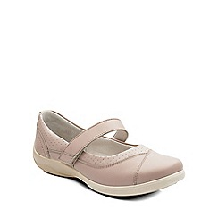 Padders - Natural 'Denise' womens mary jane shoes