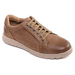 Padders - Leather 'React' wide fit shoes