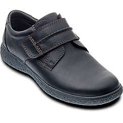 Padders - Black 'Max' mens leather shoes
