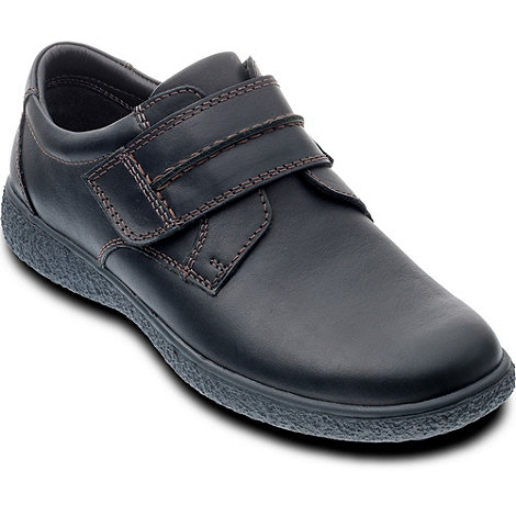 Padders - Black +Max+ mens leather shoes