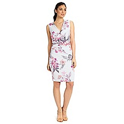 Ariella London - Multi irini jersey short wrap dress