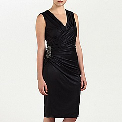 Ariella London - Black Alexia Jersey short dress