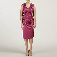 Ariella London - Magenta Alexia Jersey Short Dress