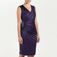 Ariella London - Purple Alexia Jersey short dress