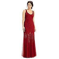 Ariella London - Red serafina sequin dress
