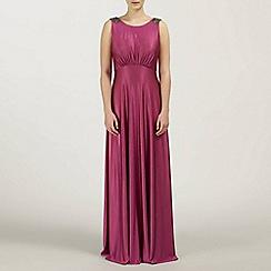 Ariella London - Magenta Harper Jersey Long Dress