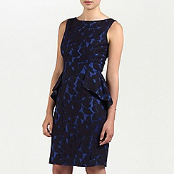 Ariella London - Black/Blue Violet Lace short dress