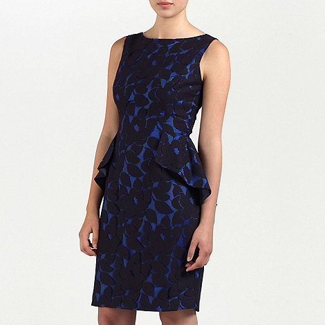 Ariella London - Black/Blue Violet Lace short dress