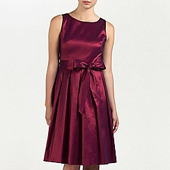 Ariella London - Wine Bella Taffeta short dress