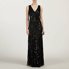 Ariella London - Juilet Sequin and Beaded Long Dress