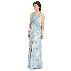 Ariella London - Silver blue juliet sequin long dress
