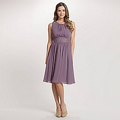 Ariella London - Lavender Alia Chiffon Short Dress