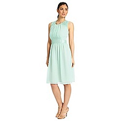 Ariella London - Mint alia chiffon short dress