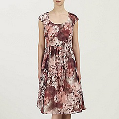 Ariella London - Multi Maddy Printed Chiffon Prom Dress