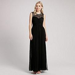 Ariella London - Black talia mesh long dress