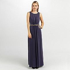 Ariella London - Grape orla maxi dress