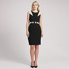 Ariella London - Black andie bleted short dress