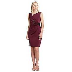 Ariella London - Burgundy stella short dress