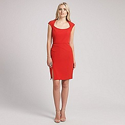 Ariella London - Red stephanie seam detailed short dress