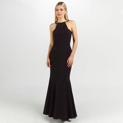 Ariella London bianca maxi long dress - . -