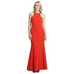 Ariella London - Red bianca maxi long dress
